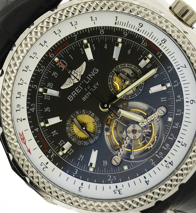 Breitling Bentley Mulliner Tourbillon Chronograph L18841 Timeworld