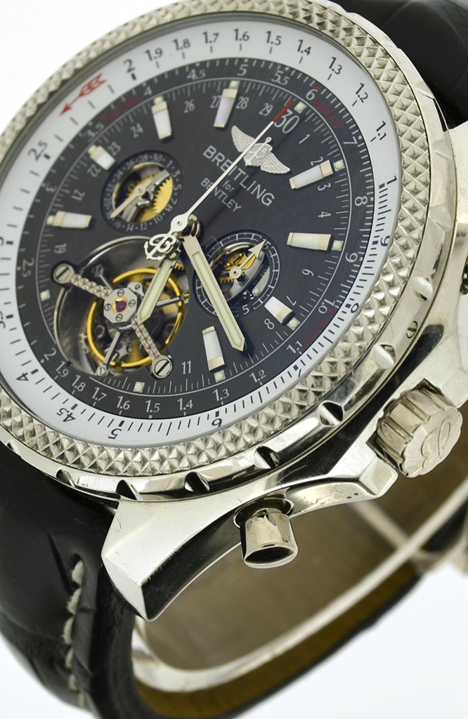 Breitling For Bentley >> Breitling Bentley Mulliner Tourbillon chronograph L18841 - TimeWorld